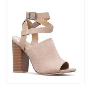 Ella Ankle Wrap Heel